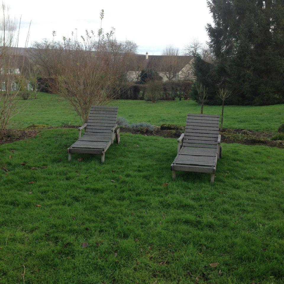 Le jardin à St Pierre d'Autils