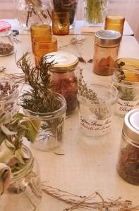Atelier herbes aromatiques